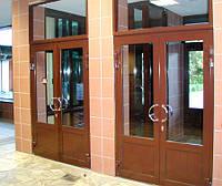 Алюминиевые двери и алюминиевые входные группы Нестандартные проемы