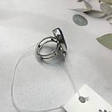 Сапфир кольцо 18,5 размер кольцо с камнем натуральный сапфир в серебре кольцо с сапфиром., фото 5