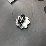Сапфір кільце 16,8 розмір кільце з каменем натуральний сапфір в сріблі кільце з сапфіром., фото 3