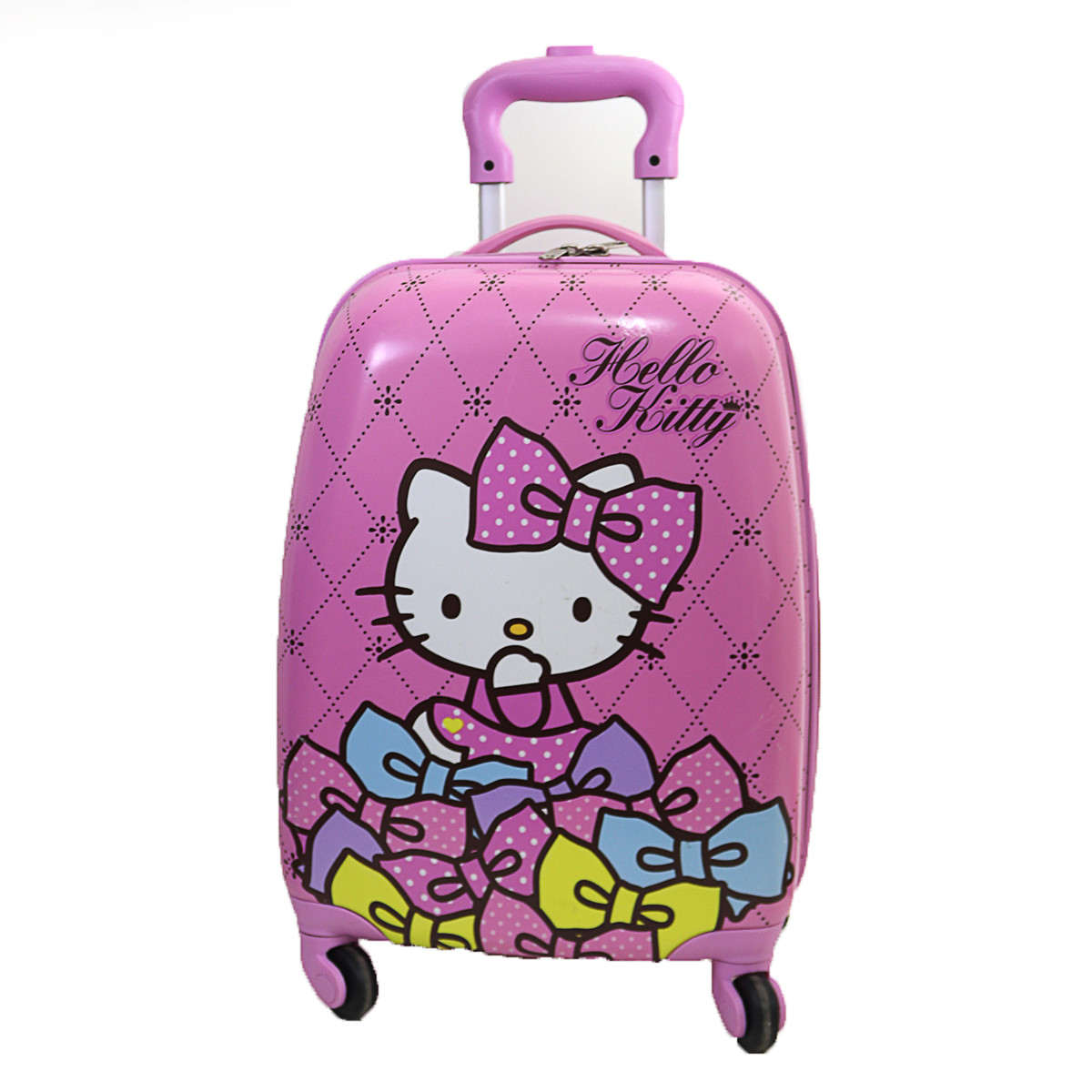 "Детский пластиковый чемодан  ""Hello Kitty"""