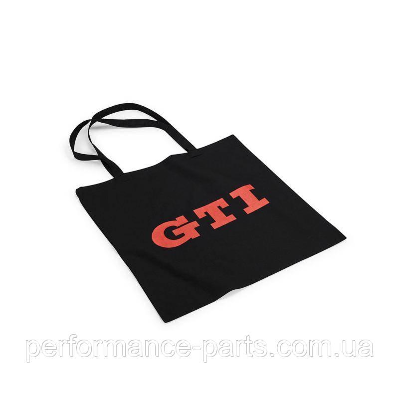 Volkswagen 000087317BN GTI Design Хлопковая сумка для покупок Черный / Красный