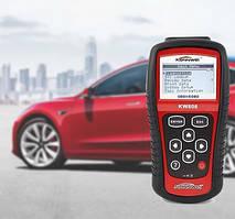 Автомобильный диагностический сканер OBDII/EOBD scanner KW 808 Красный