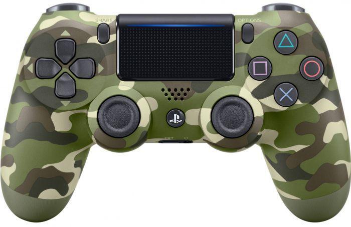 Джойстик безпровідний bluetooth для приставки Sony PS 4 Wireless блютуз геймпад пс4 камуфляж