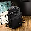 Великий рюкзак в чорному кольорі, фото 6