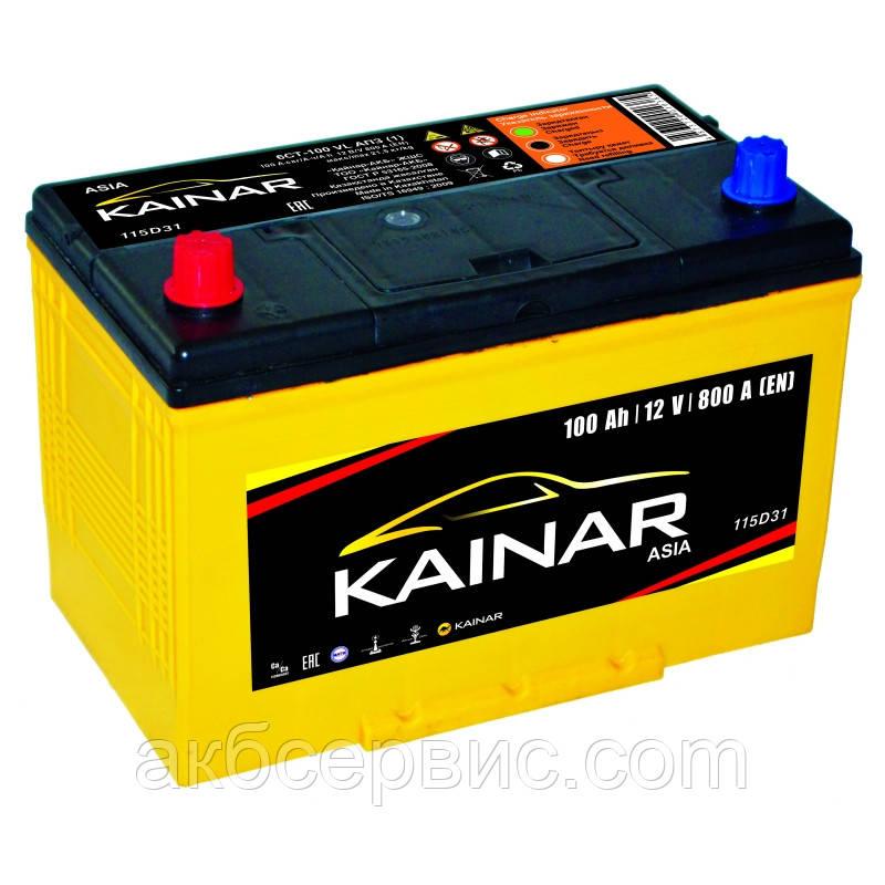 Акумулятор автомобільний Kainar 6СТ-100 Аз Asia