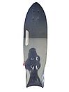 Скейт (скейтборд) 32026, подшипник АВЕС-9, колёса светящиеся PU, d=6 см, дека с ручкой, фото 2