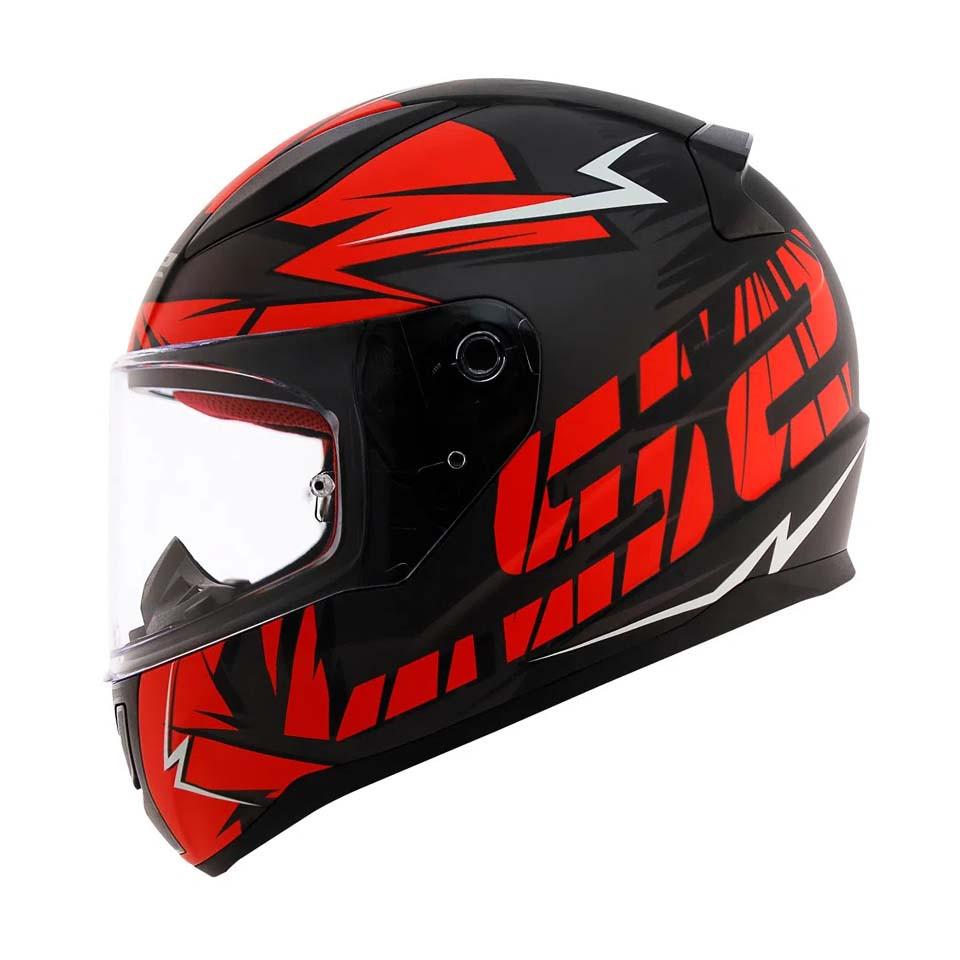 Мото шолом LS2 FF353 RAPID CROMO red matt