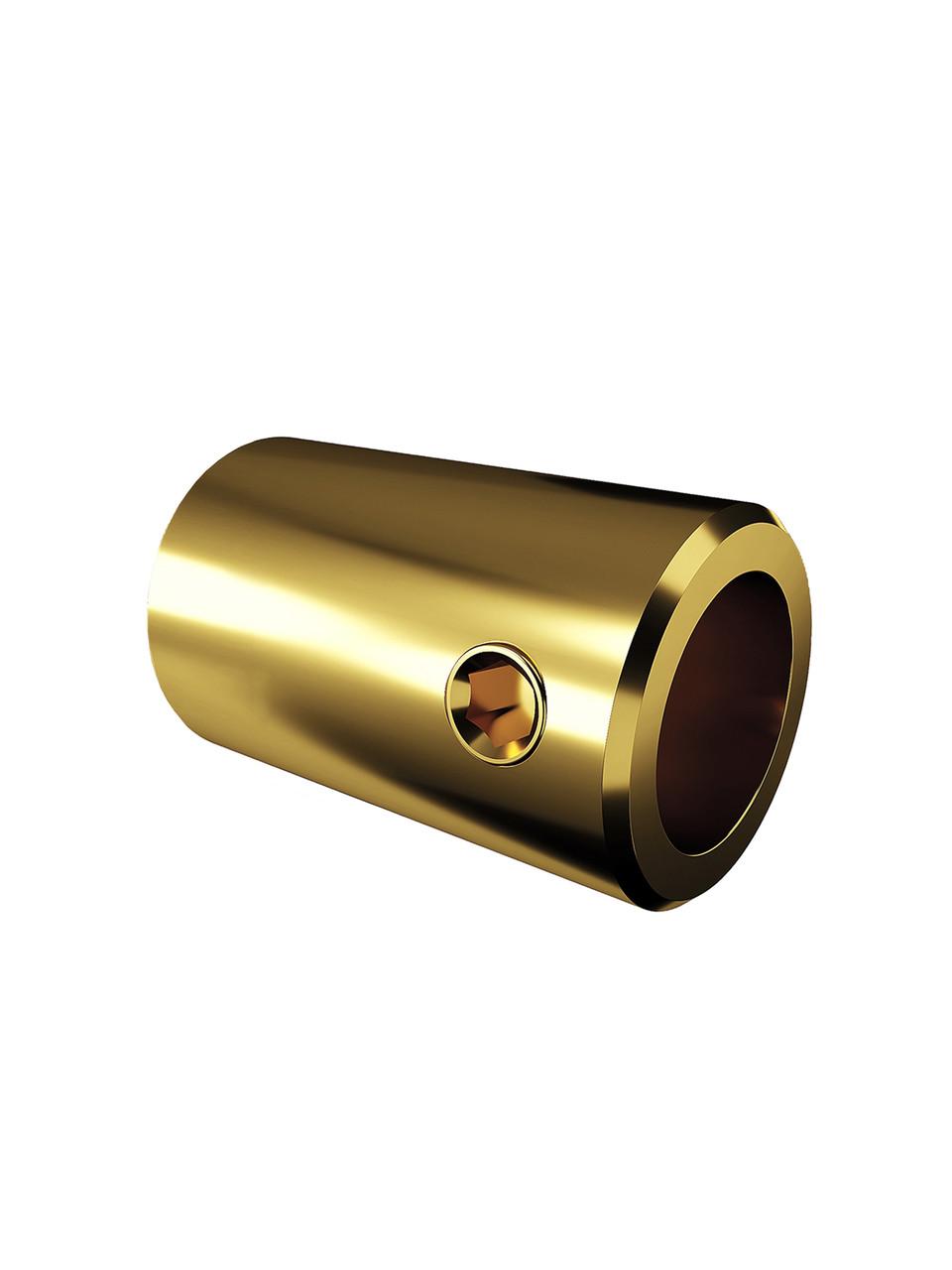 ODF-09-13-10 Крепление штанги к стене для душа, D16 мм, 90 град. цвет золото