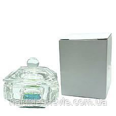 Стаканчик для мономера, хны, краски стеклянный с крышкой, фото 2