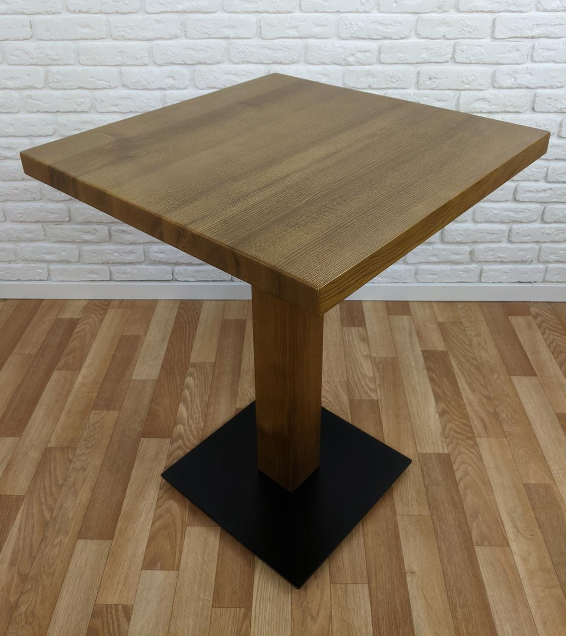 "Деревянный стол ""UNO-4"" для кафе"