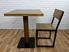 "Деревянный стол ""UNO-4"" для кафе, фото 4"