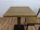 "Деревянный стол ""UNO-4"" для кафе, фото 6"