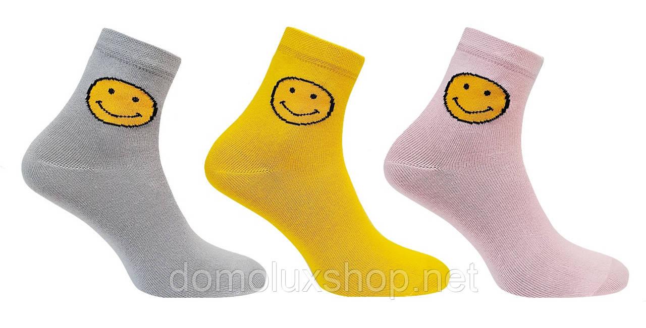Super Socks Набір шкарпеток SMILE 3 пари р. 36-40 (S_031)
