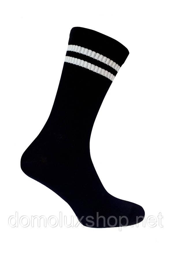 Super Socks Шкарпетки чорні Теніс р. 41-44 (S015)
