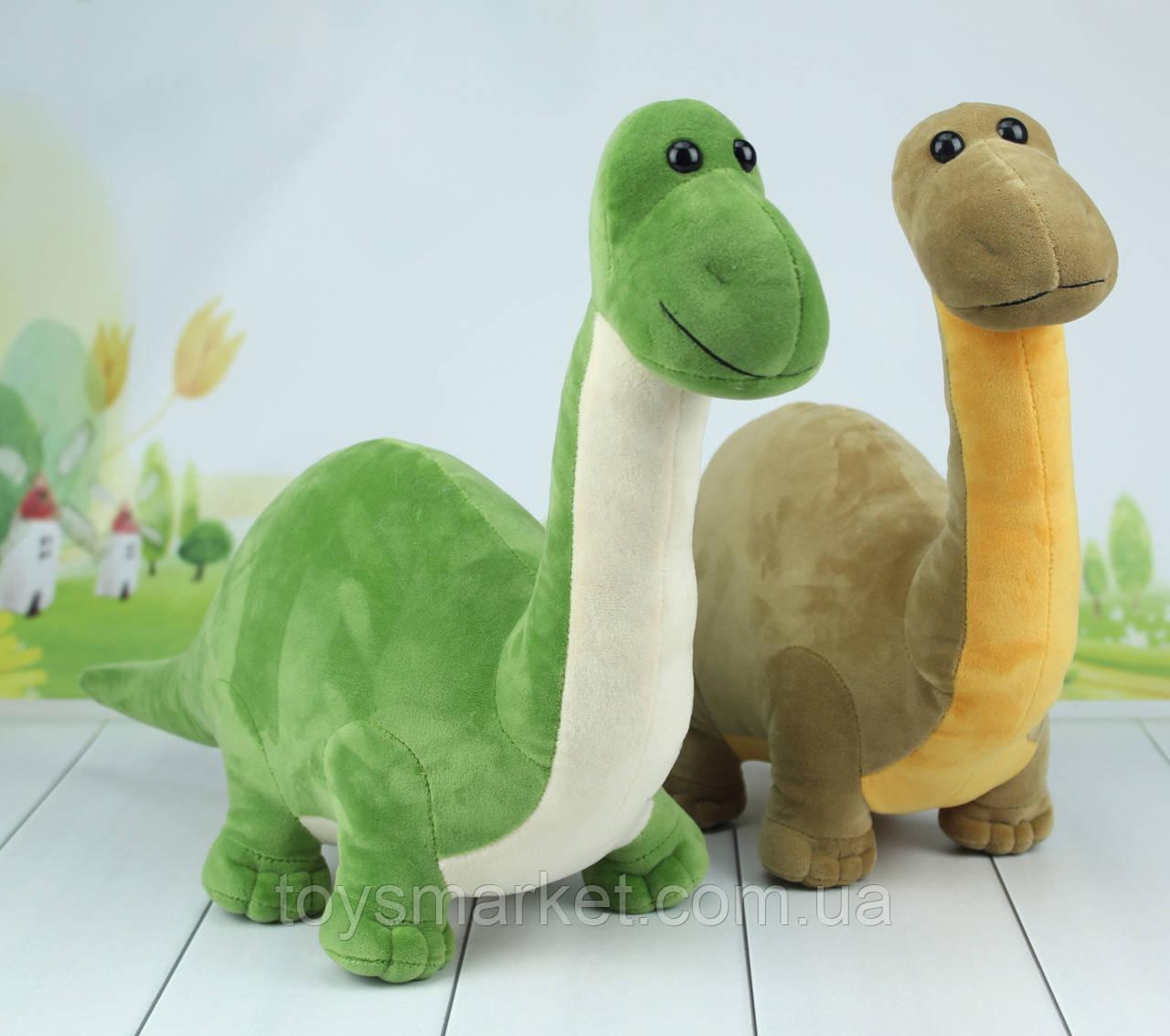 М'яка іграшка Динозавр, плюшевий динозавр, 34 див.