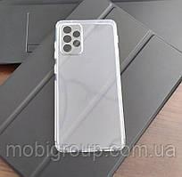 Чохол для Samsung A72 (5G/4G) силіконовий прозорий (з заглушками)