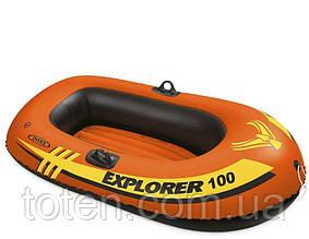 Човен надувний весельний 147х84х36см Intex 58329 EXPLORER 100