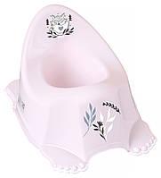 Горшок Tega Little Fox (Plus Baby) PB-LIS-001 нескользящая 130 light pink