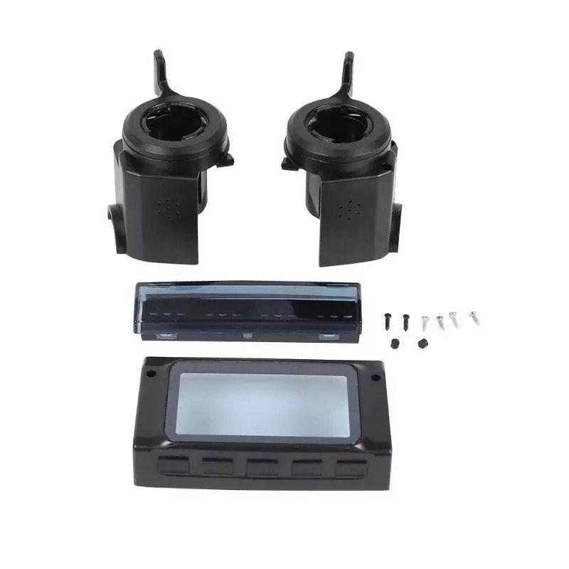 Пластиковая крышка экрана электросамоката + левая и правая ручка + комплект корпуса фары для KUGOO S3