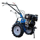 Мотоблок Кентавр МБ2010Д-4 (колеса 4,00-10)+фреза, фото 2