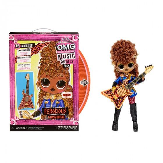Ігровий набір з лялькою L.O.L. Surprise! серії O.M.G. Remix Rock - Фурія 577591