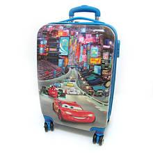 """Детский пластиковый чемодан  """"Тачка"""""""