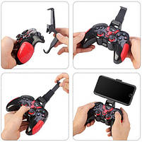 Игровой беспроводной блютуз джойстик геймпад STK - 7024 для телефона планшета компьютера, фото 5