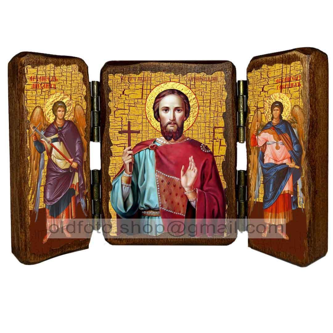 Ікона Максим Адрианопольский Мученик ,ікона на дереві 130х170 мм