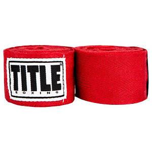 Бинти боксерські Title Traditional 180 TB-4012