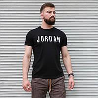 Чоловіча футболка Jordan чорна , Туреччина, фото 1