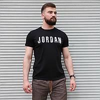 Мужская футболка Jordan чёрная , Турция