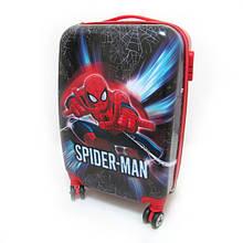 """Дитячий пластиковий чемодан """"Людина-павук"""""""
