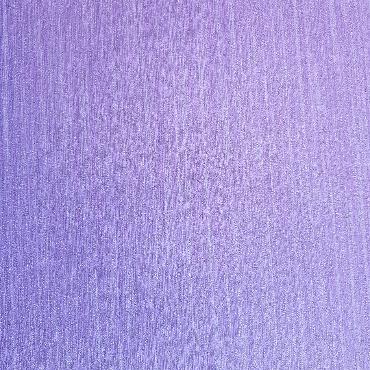 Шпалери метрові вінілові на флізелін дизайнерські Erismann Elle однотонні тонка смужка під тканину бузковий
