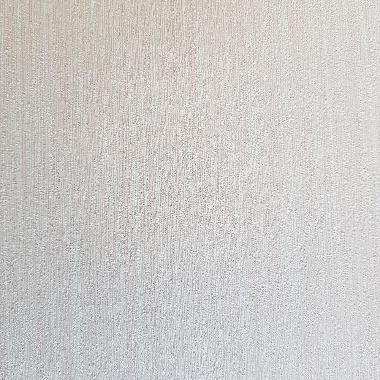 Шпалери метрові вінілові на флізелін дизайнерські Erismann Elle однотонні тонка смужка під тканину рожеві