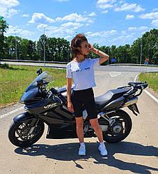 Женские велосипедки Фитнес котон