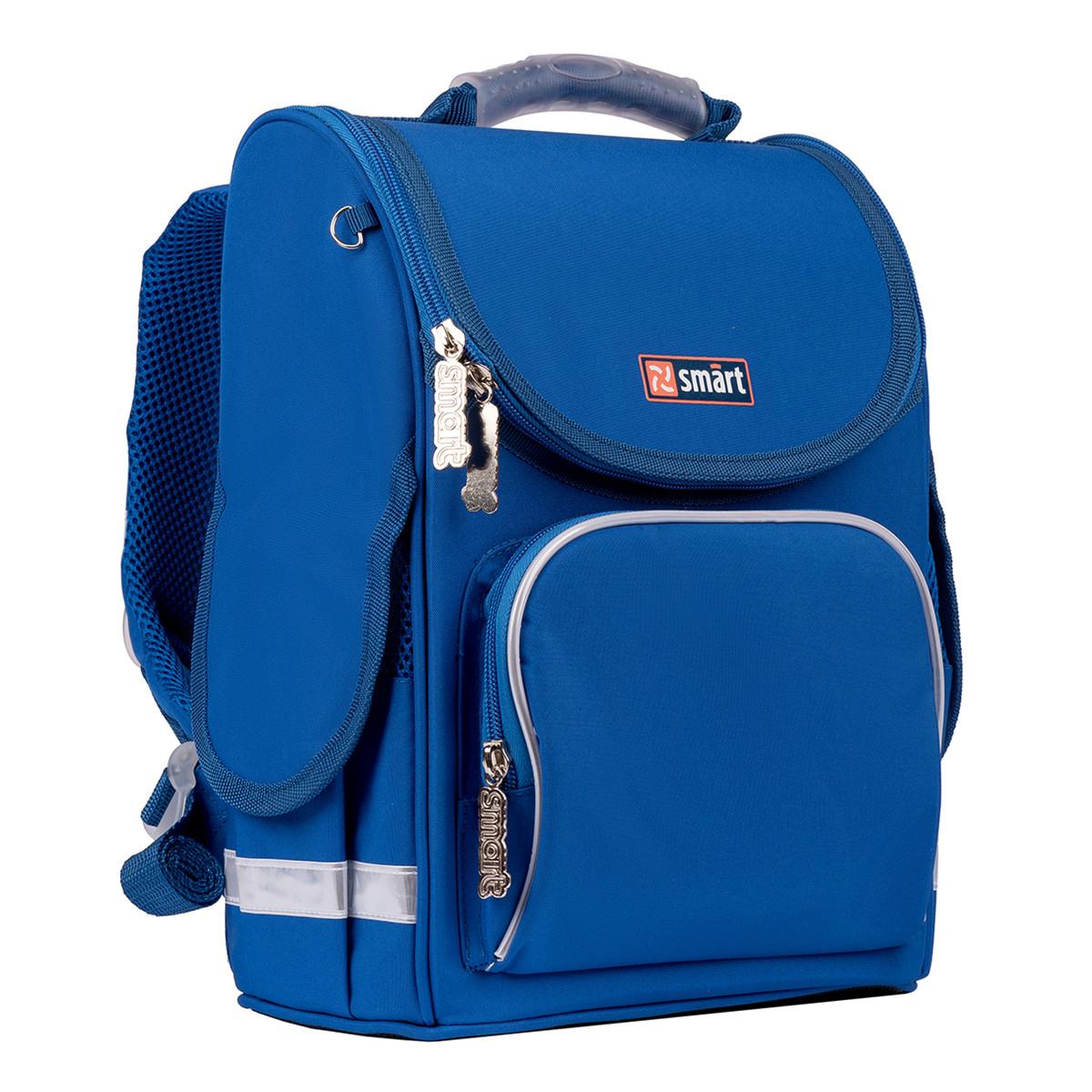 Рюкзак школьный каркасный SMART PG-11 Navi синий (557018)