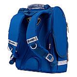 Рюкзак школьный каркасный SMART PG-11 Navi синий (557018), фото 3