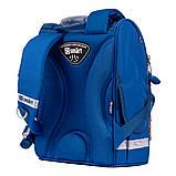Рюкзак школьный каркасный SMART PG-11 Navi синий (557018), фото 4