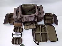 Карповая фидерная сумка для транспортировки и хранения рыболовных снастей катушек оснасток