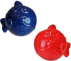 Іграшка для собак Croci FRESH М'яч-рибка, охолоджуюча (заморожування), Д 8,5 см