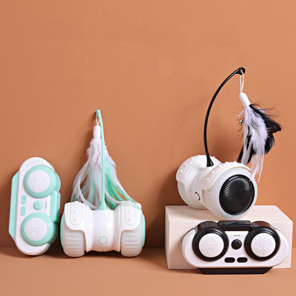 Розумна USB іграшка для котів з дистанційним пультом і підсвічуванням
