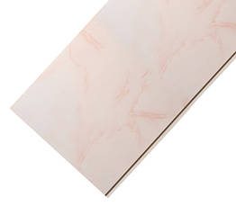 Панель ПВХ 250мм*8мм*6000мм Мармур рожевий глянцева