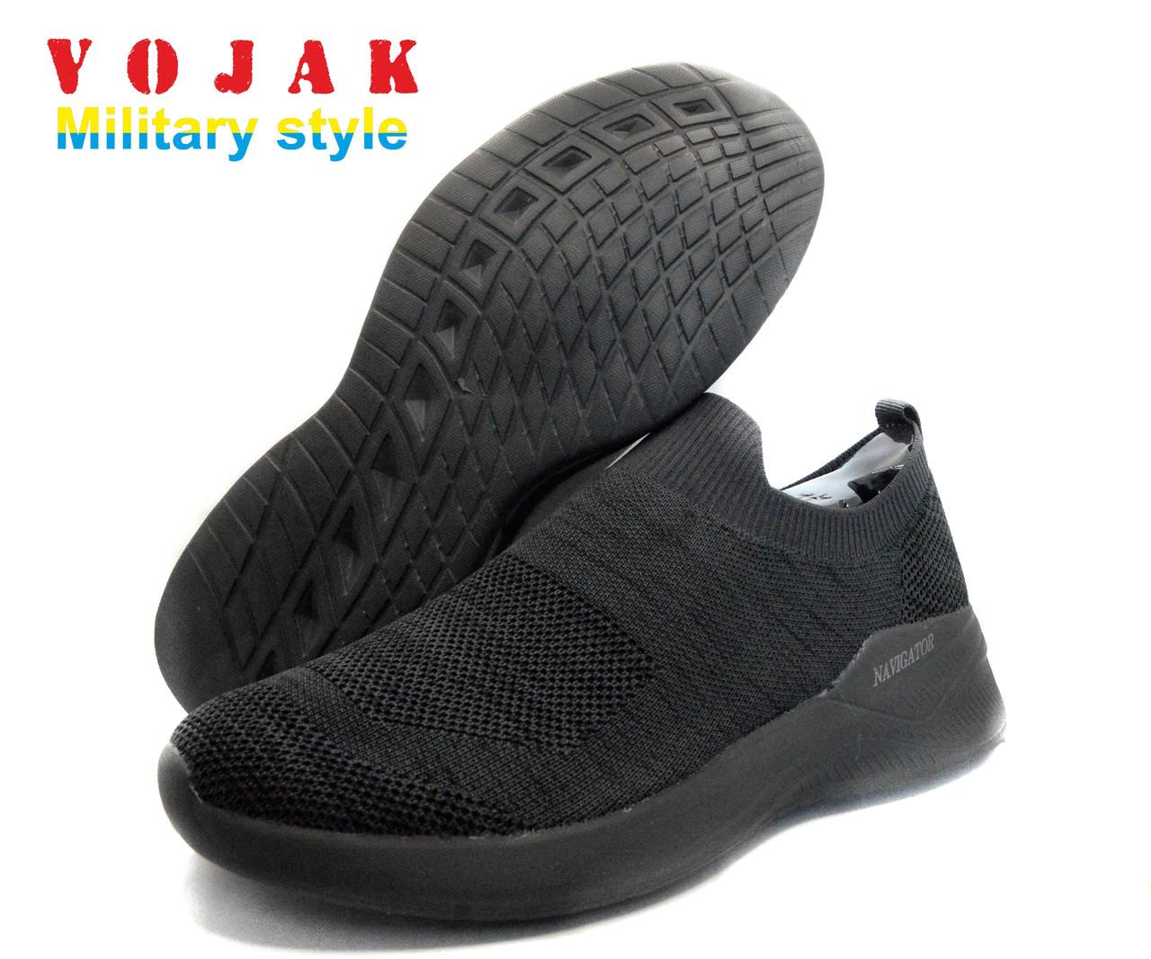 Кросівки чоловічі літні NAVIGATOR LITE BLACK