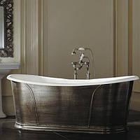 Чугунная ванна облицованная листовым свинцом Devon & Devon Camelot NACAMELOT