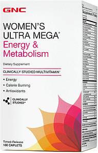 Вітаміни для жінок GNC women's Multivitamin Energy & Metabolism 90 капс. (уцінка)