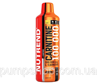 Л-карнітин Nutrend Carnitine Liquid 100000 1000 мл (уцінка)
