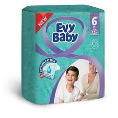 Підгузки дитячі Evy baby XL elastic twin (16+ кг) 32 шт
