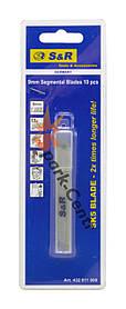 Комплект лезвий усиленный SK5 Carbon Steel для ножей 9 мм S&R упаковка 10 шт (Германия)