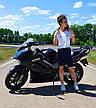 Женские велосипедки Фитнес котон, фото 4