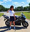 Жіночі велосипедки Фітнес котон, фото 3